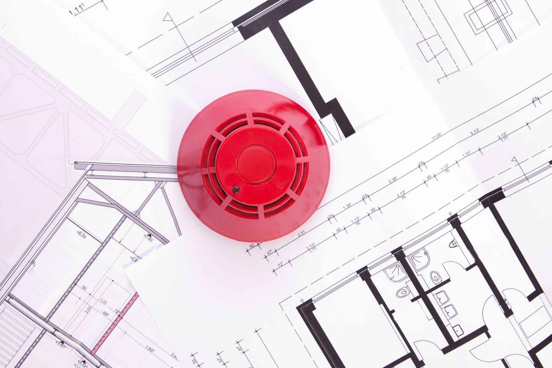 Küchenabluftreinigung, Brandschutzklappen VDI 6022, Brandschutz