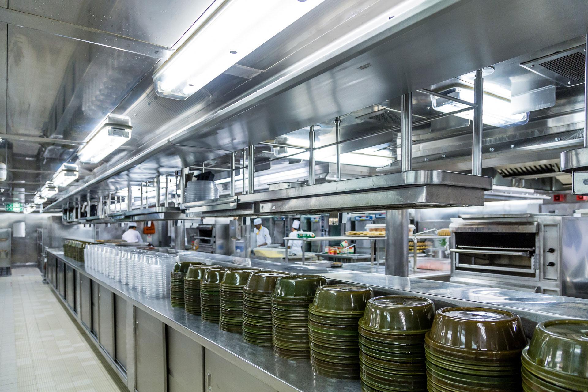 Reinigung von Küchengeräten