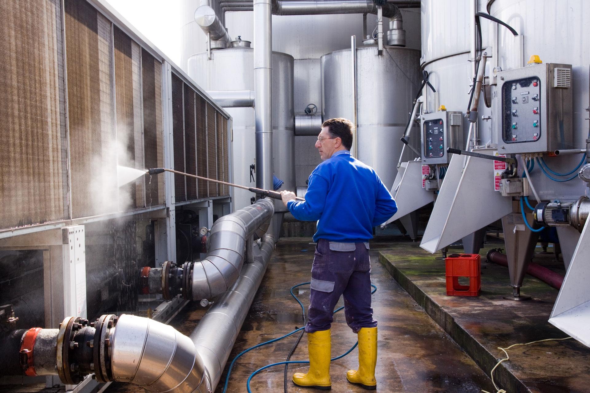 Reinigung von Lüftungsanlagen nach VDI 6022