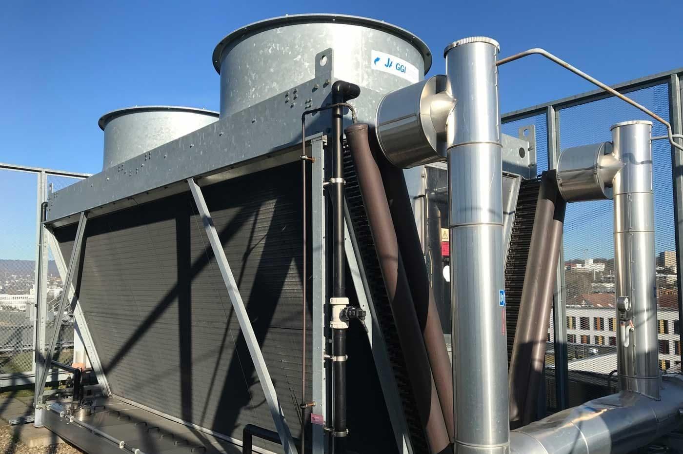Kühlturmreinigung Rückkühlwerk