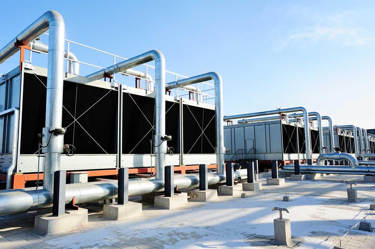 Kühlturmreinigung, Lüftungsanlagen, RTL-Anlagen