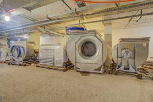 Wäschereiabluftanlage Reinigung